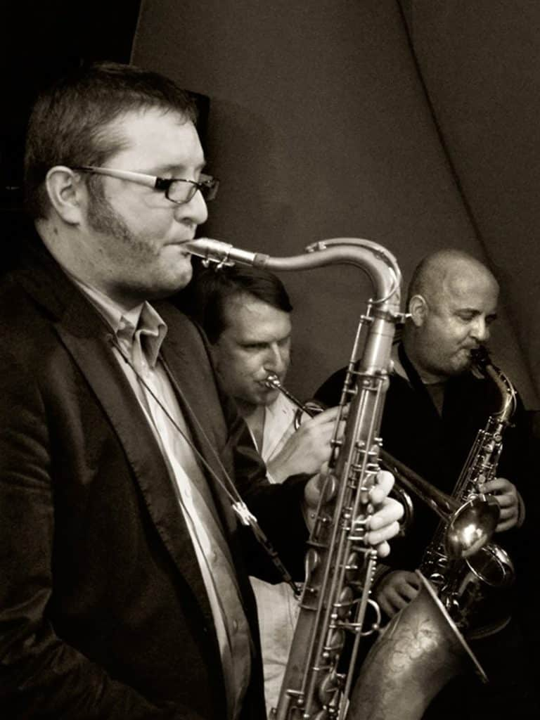 Barcode soul jazz quintet hornsection - Thomas Kimmerle - Jazz in Bonn